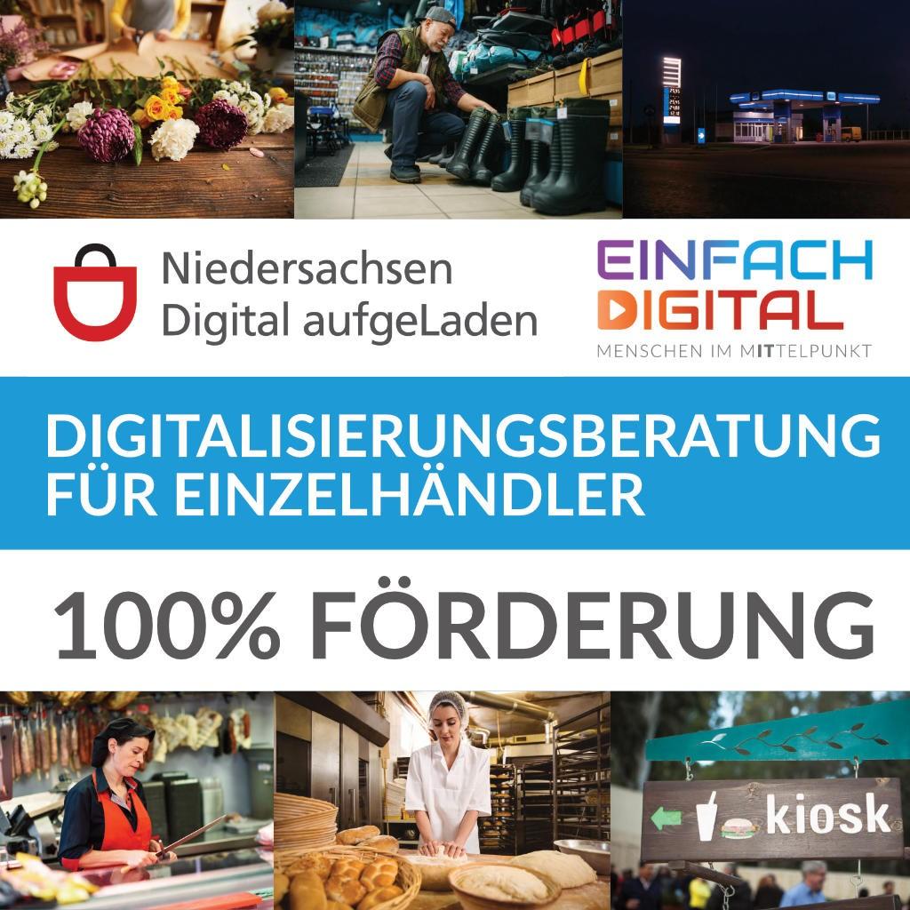 NIedersachsen digital aufgeLaden bei EINFACH DIGITAL - Förderung für Digitalisierungsberatung